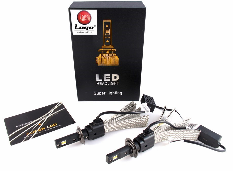 led h7 headlight head light led set h7 h1