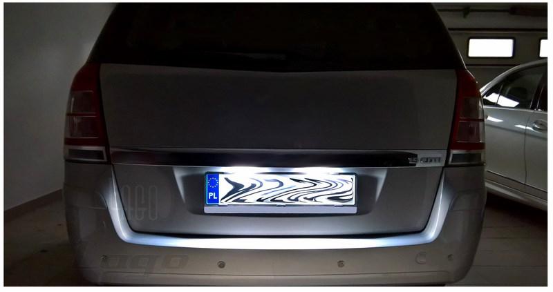 Lampki Led Podświetlenia Tablicy Rejestracyjnej Opel Astra